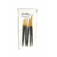 Painting Brush set of 7 round brushes
