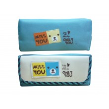 School Stationery Blue Miss you Pouch