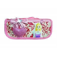 School Stationery Pouch for Girls (Pink Pouch No.-340)