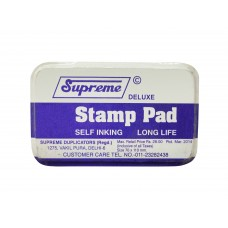 Stamp Pad blue color  (Pack of 5)