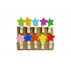 Wooden Clip for art work - Set of 5 Packs