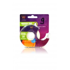 Writewell Invisble Tape with Dispenser (10mm X 33mm) - Set of 2
